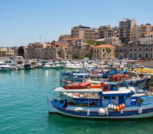 La ville de Héraklion en Crète