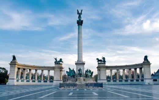 La Place des Héros à Budapest