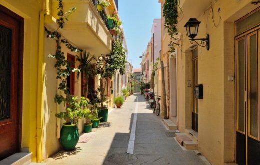 La ville grecque de Rethymnon