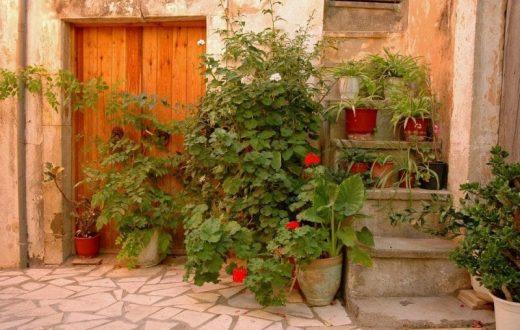 Le village d'Archanes en Crète