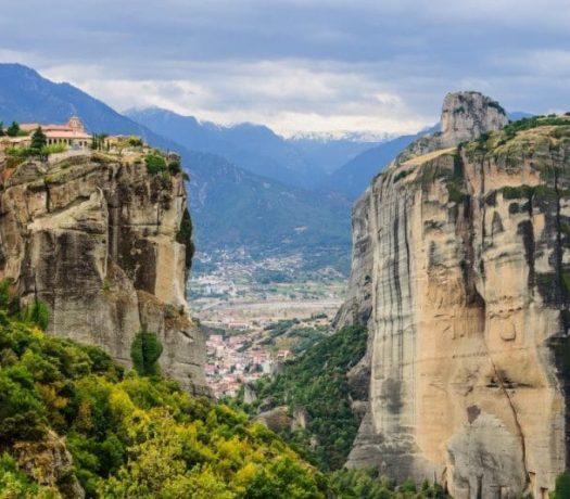 Monastère des Météores, Grèce