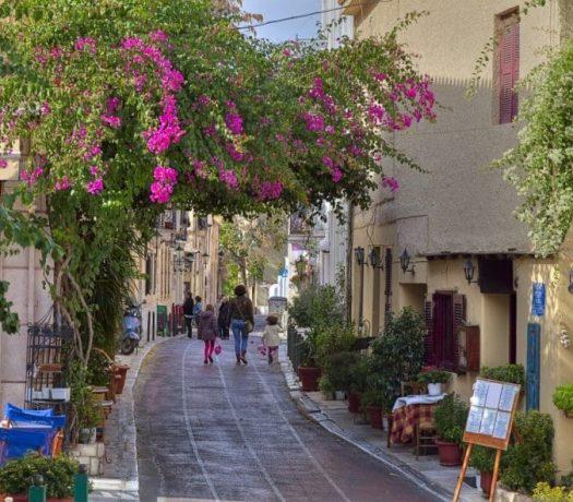 Quartier Plaka Athenes