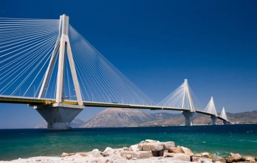 Le pont Rion-Antirion en Grèce