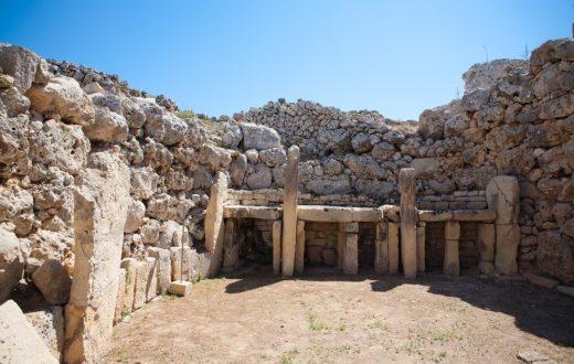 Les Temples mégalithiques de Ggantija