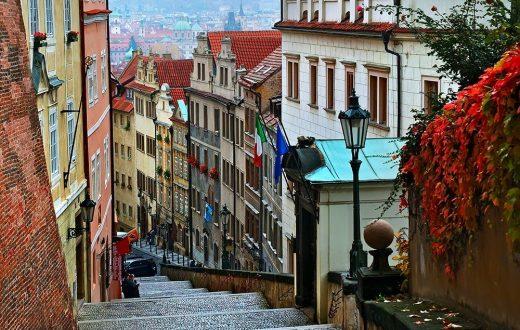 Le quartier Mala Strana à Prague