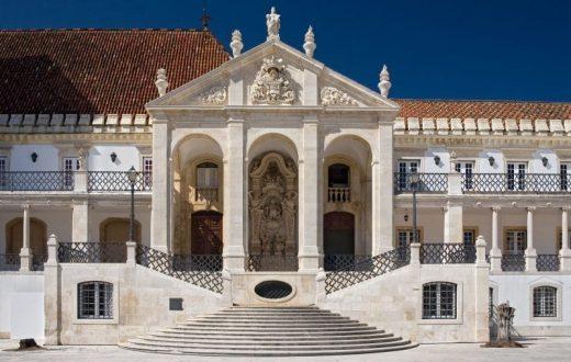 La ville de Coimbra