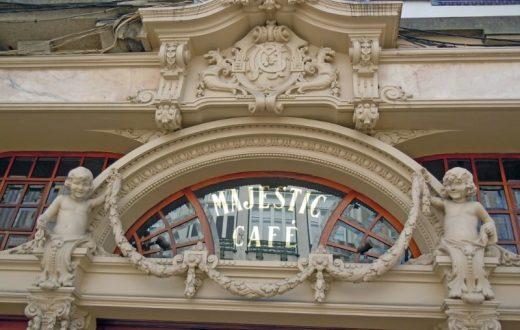 Le Café Majestic de Porto