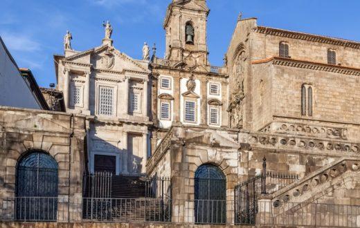 L'église de Saint François à Porto
