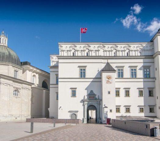Le Palais des Grands Ducs en Lituanie