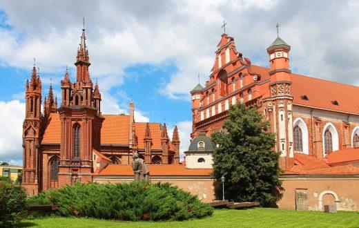 L'église Sainte-Anne de Vilnius