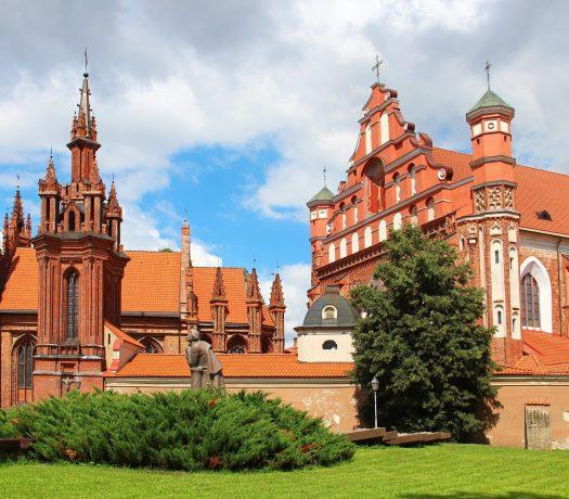 L'église de Sainte Anne à Vilnius