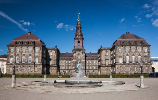 Le château de Christiansborg
