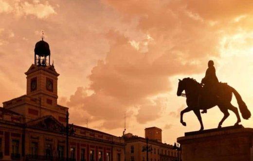 Place Puerta del Sol, Madrid
