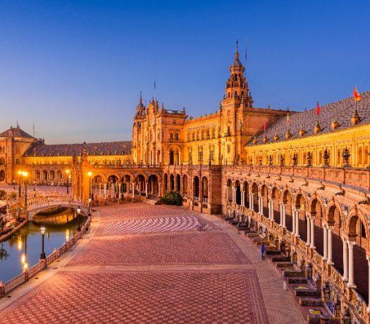 La Place de l'Espagne - Séville