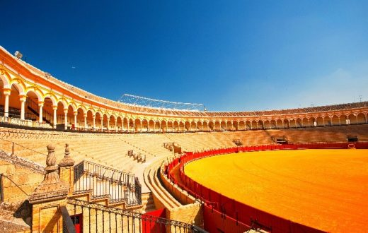 Plaza de Toros (Les arènes de corrida de Séville)