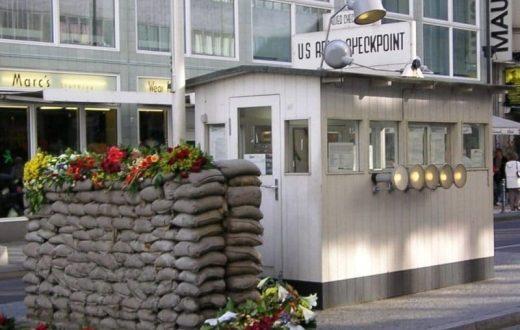 Le musée du Mur Checkpoint Charlie.