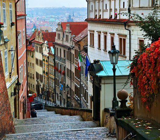 Rue à Prague