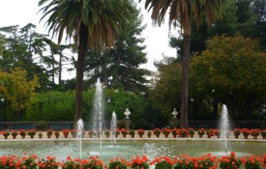 Jardins du Palais Pedralbes Barcelone