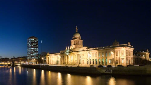 Centre-ville de Dublin