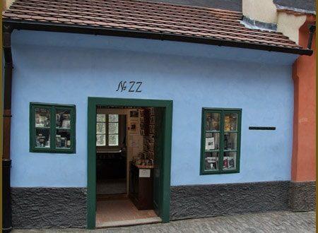 Ruelle d'Or Prague (maison de la sœur de Kafka)