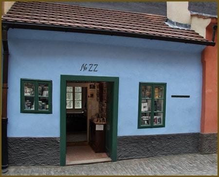 La maison de Kafka sur la Ruelle d'or