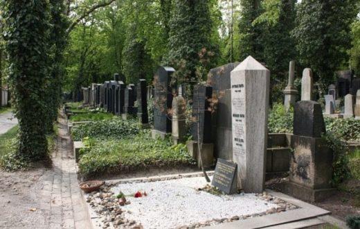 La tombe de Kafka (Prague)