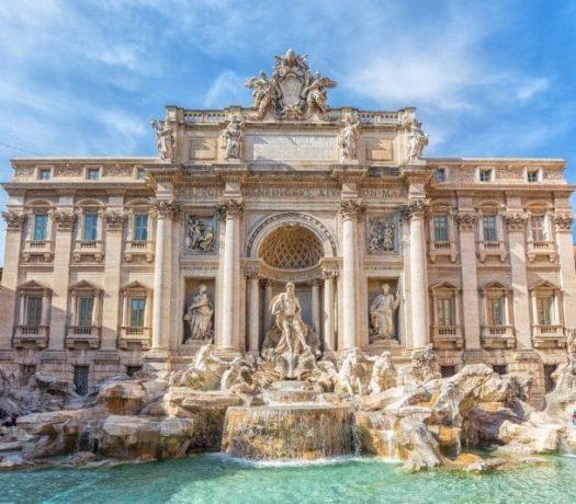 La Fontaine de Trevi - Rome