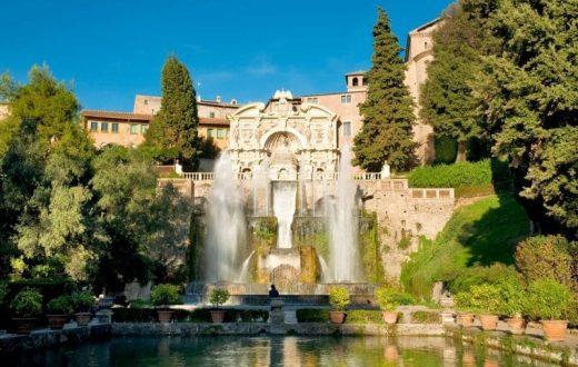 Tivoli et la magnifique Villa d'Este
