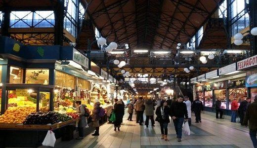 Le marché couvert de Budapest