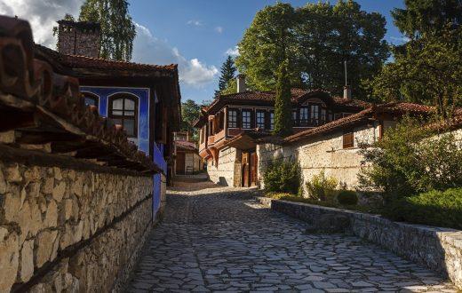 La ville de Koprivshtitsa
