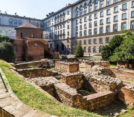 Rotonde de St George, église vieille - Sofia, Bulgarie