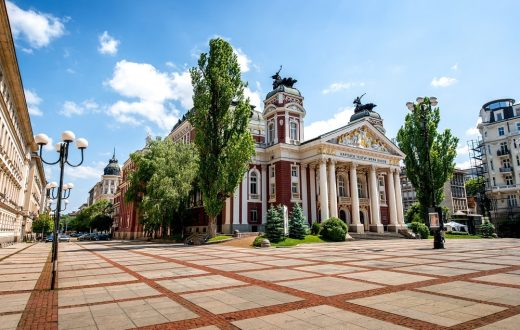 La ville de Sofia