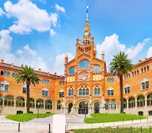 L'Hôpital de Sant Pau - Barcelone
