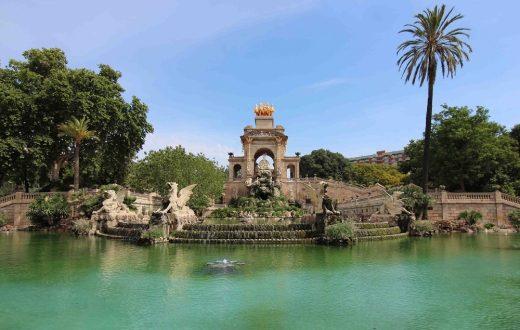 Le parc de la Ciutadella (Barcelone)