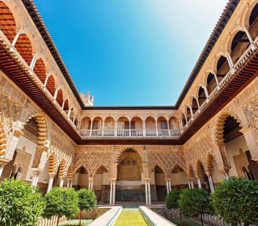 Real Alcazar - cour intérieure - Séville