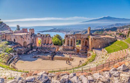 La ville de Taormine
