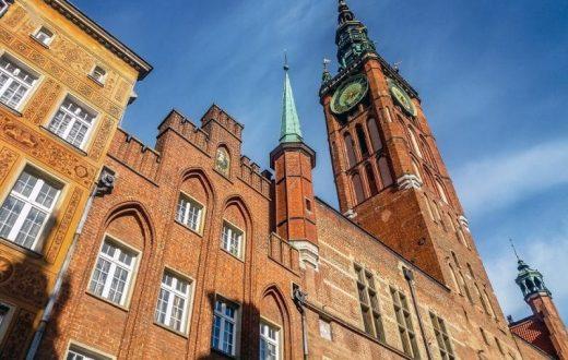 L'hôtel de ville (Gdansk)