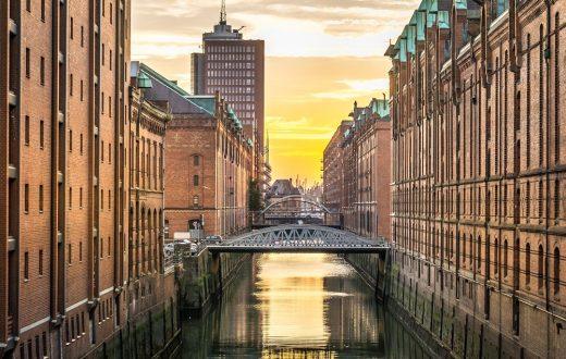 La ville d'Hambourg
