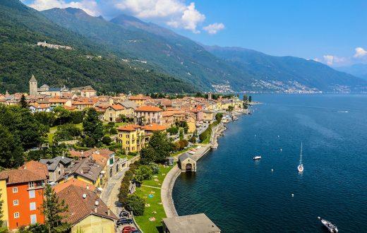 Le lac Majeur (Lago Maggiore)