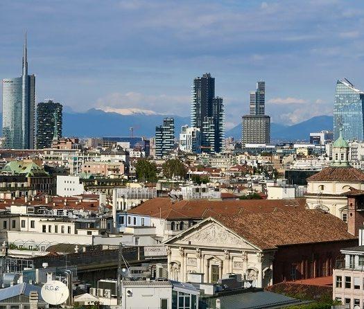 Milan, panorama de la ville