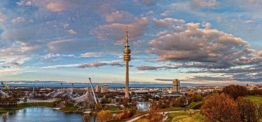 Le parc olympique de Munich