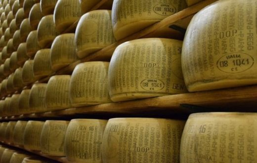 Atelier de production de fromage (Italie)