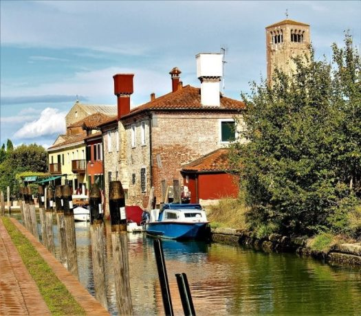 L'île de Torcello, Venise