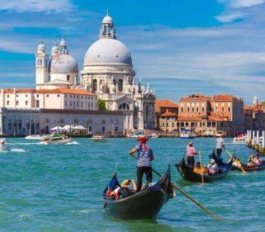 Venise, vue du Canal Grande