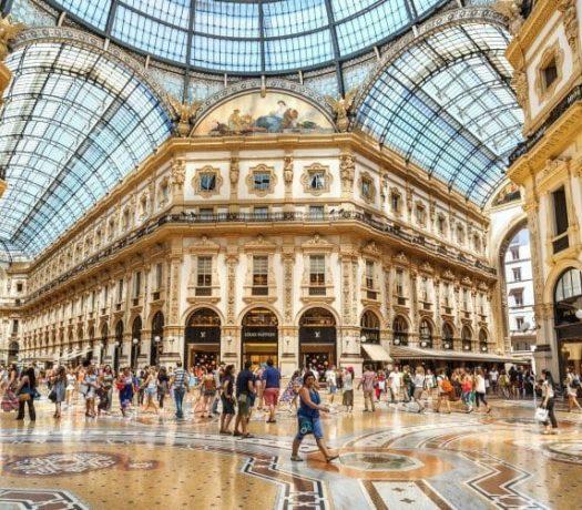 Gallerie commerciale de Milan