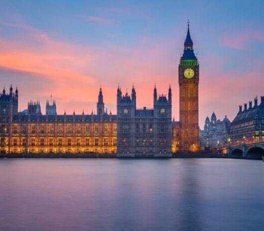 Big Ben et le Palais de Westminister - Londres
