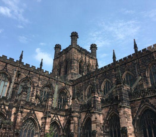 Cathédrale de Chester - Grande-Bretagne, chef-lieu du Cheshire, au S. de Liverpool