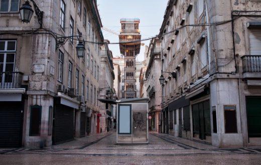 L'ascenseur de Santa Justa (Lisbonne)