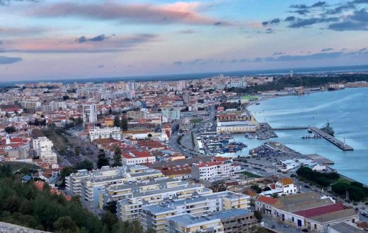 La ville de Setubal