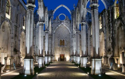 Le musée Archéologique du Carmo (Lisbonne)
